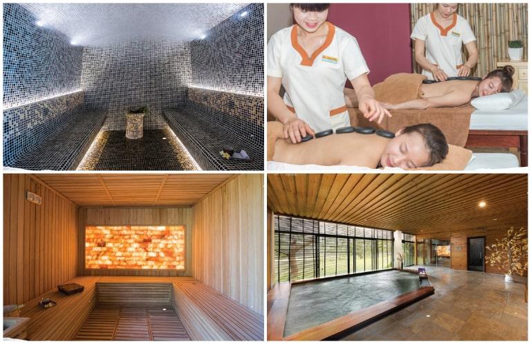 Dịch vụ spa cao cấp tại resort Kim Bôi Hòa Bình Serena