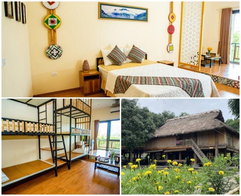 Không gian phòng ở đa dạng tại An Lạc Resort Kim Bôi