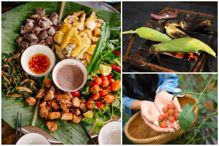 Nhiều món ăn dân dã thu hút tại Lương Sơn Hòa Bình