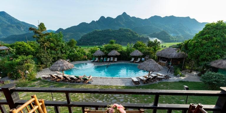 Mai Châu Ecolodge là khu resort có cảnh đẹp như mơ