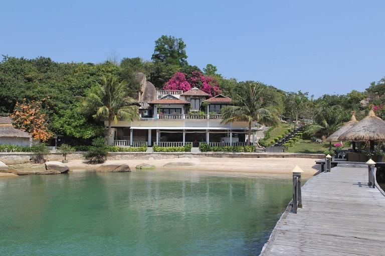 Khu villa khang trang tại resort Ngọc Sương Cam Ranh