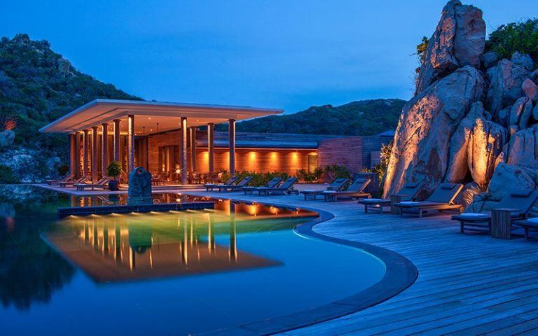 Khu resort Amanoi về đêm
