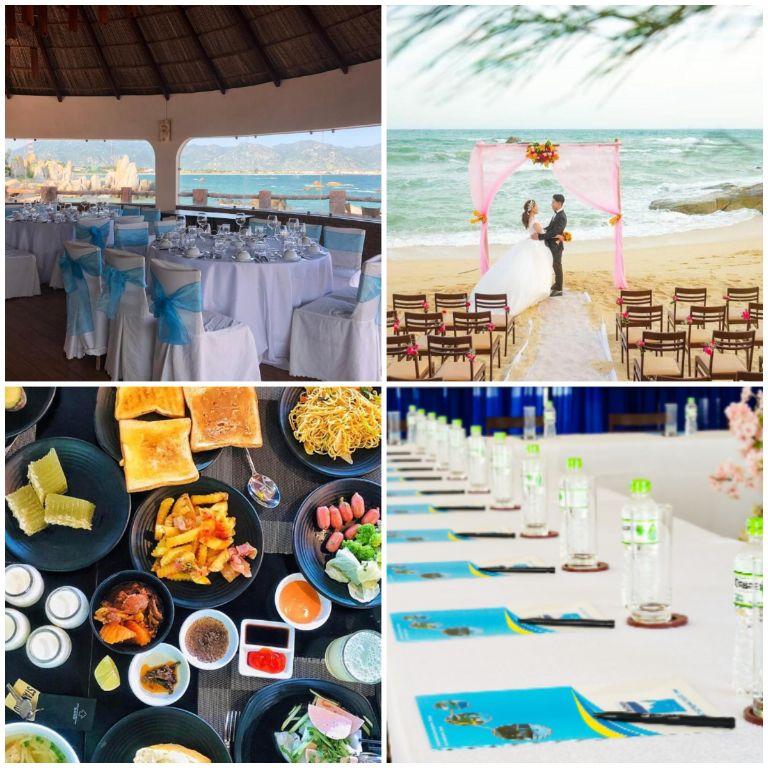 Địa điểm tổ chức các cuộc hội họp và đám cưới