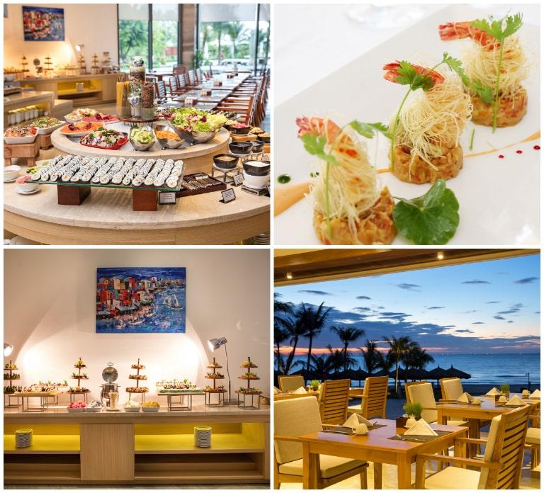 Hai nhà hàng ấn tượng tại reosrt Riviera Cam Ranh