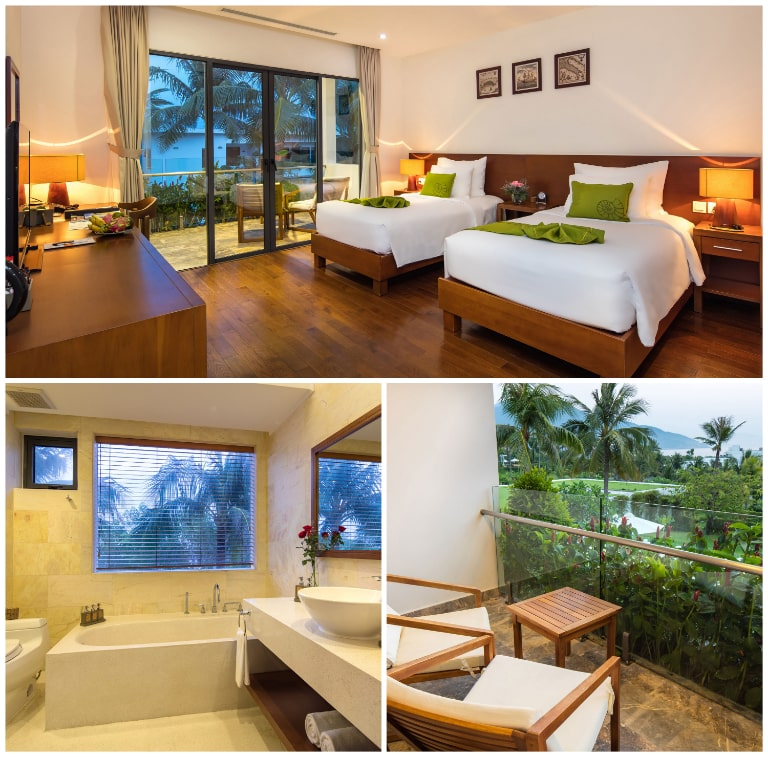 Phòng Premium hướng biển tại resort Riviera Cam Ranh