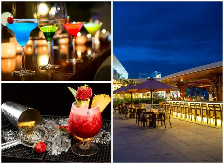 Bar & Lounge lung linh bên bể bơi với bầu không khí cực chill