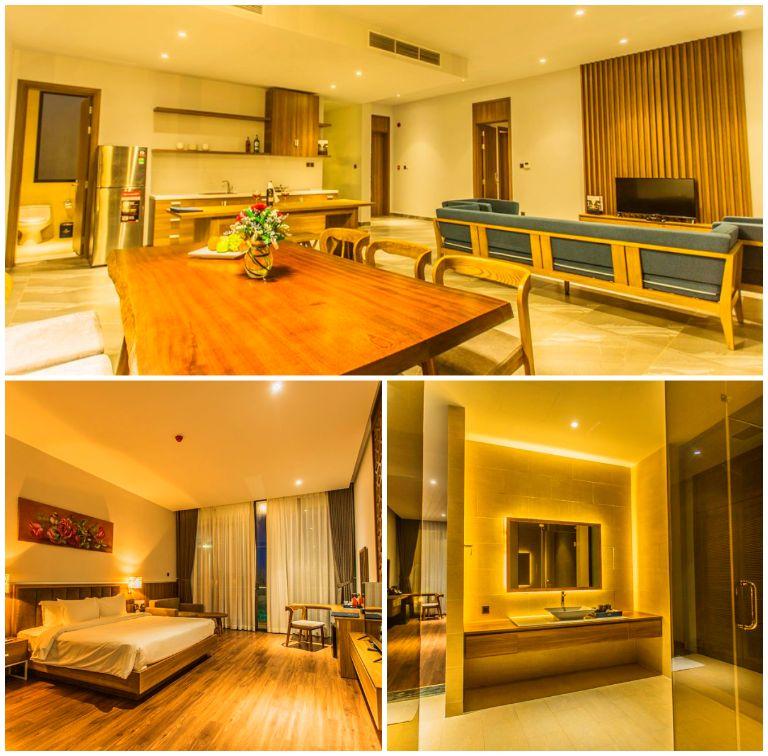 Biệt thự 4 phòng ngủ hướng biển tại resort Rosa Alba