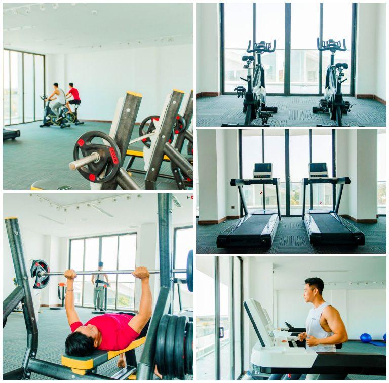 Khu vận động - Phòng tập gym