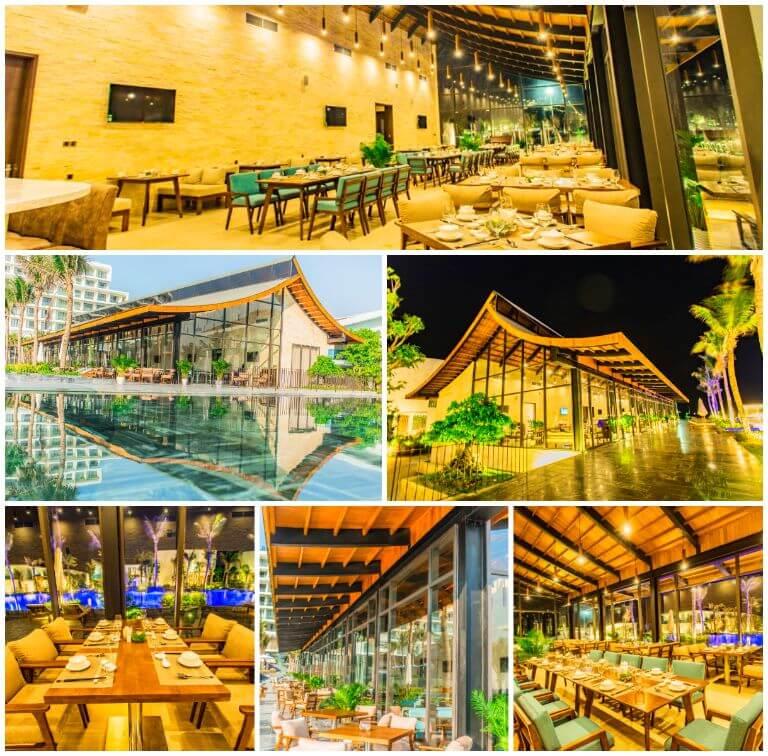 Nhà hàng La Rose tại resort Rosa Alba