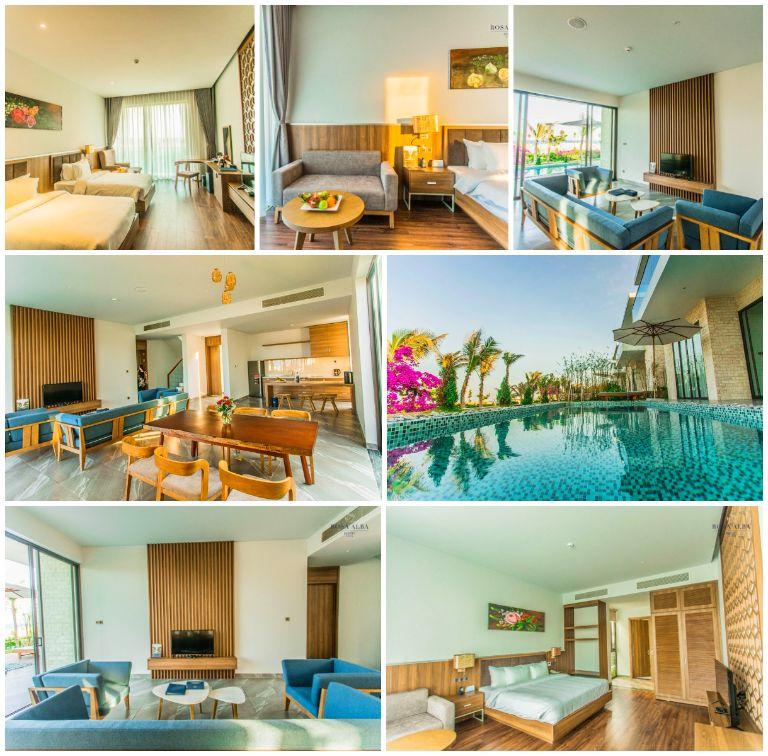 Biệt thự 3 phòng ngủ hướng biển tại resort Rosa Alba
