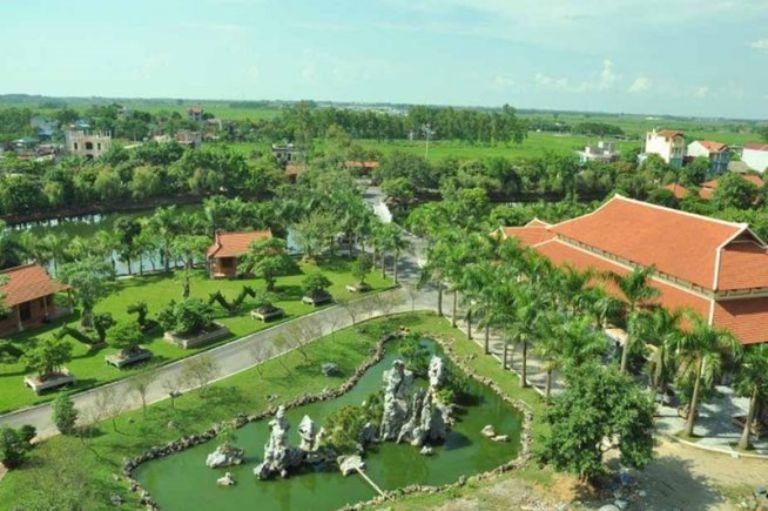 Toàn cảnh khu resort Thạch Thất - Khu nghỉ dưỡng Hoàng Long