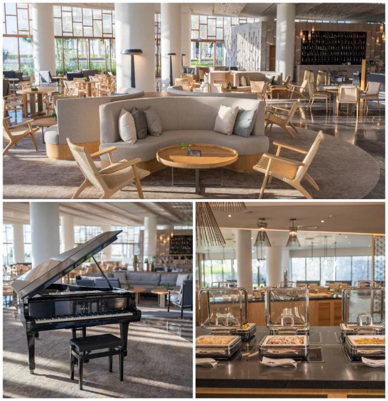 Hệ thống nhà hàng đẳng cấp tại resort Alma Cam Ranh