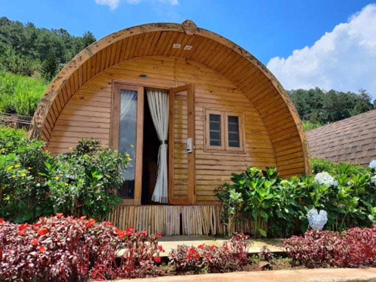 Kiến trúc Bungalow độc lạ trong khuôn viên resort