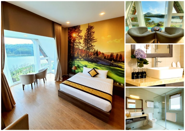 Phòng ngủ Deluxe cao cấp của Wonder Resort