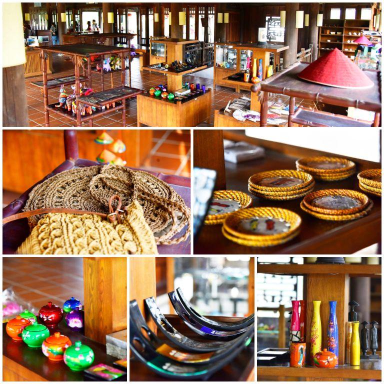 Gift Shop tại resort 5 sao gần Hà Nội