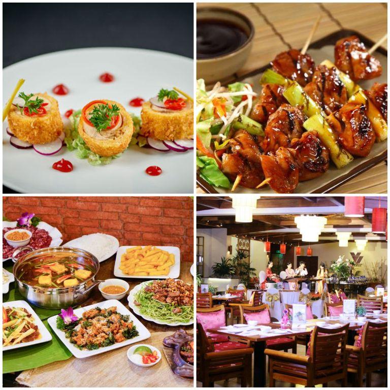 Không gian ăn uống tại resort 5 sao gần Hà Nội