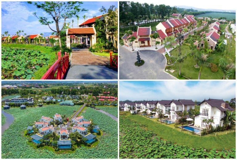 Resort 5 sao gần Hà Nội - Vườn Vua Phú Thọ
