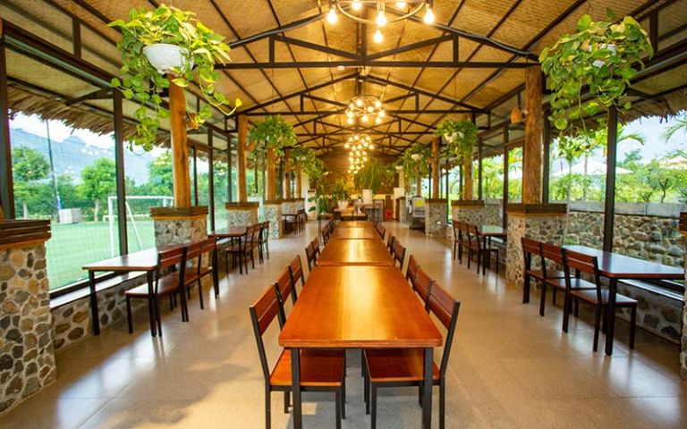 Ẩm thực ở resort An Lạc Kim Bôi Hòa Bình