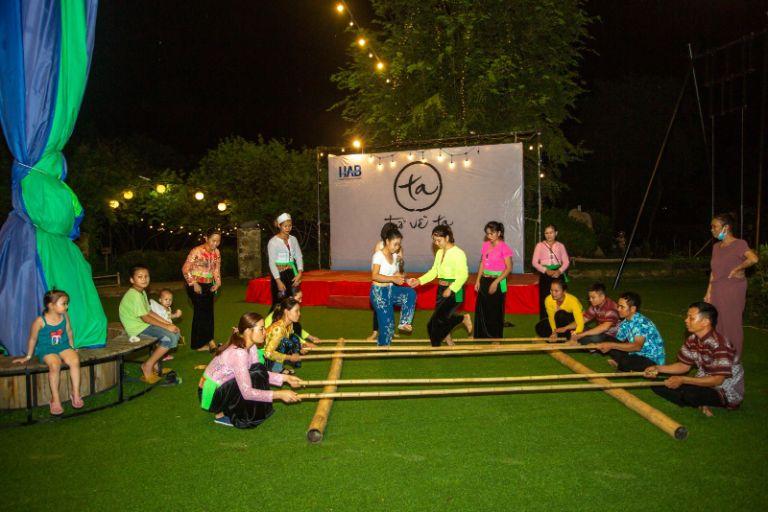 Các trò chơi dân tộc tại resort An Lạc