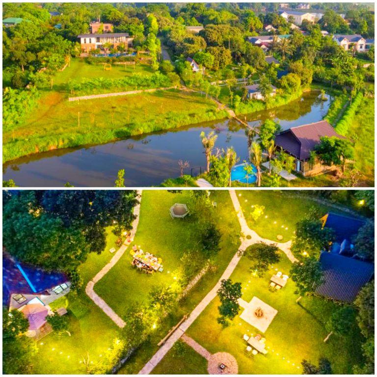 Bavi Annam Garden - Resort vườn Quốc Gia Ba Vì