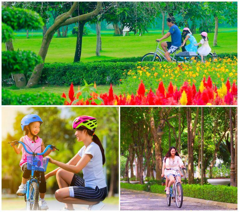 Đạp xe khám phá resort FLC Vĩnh Phúc