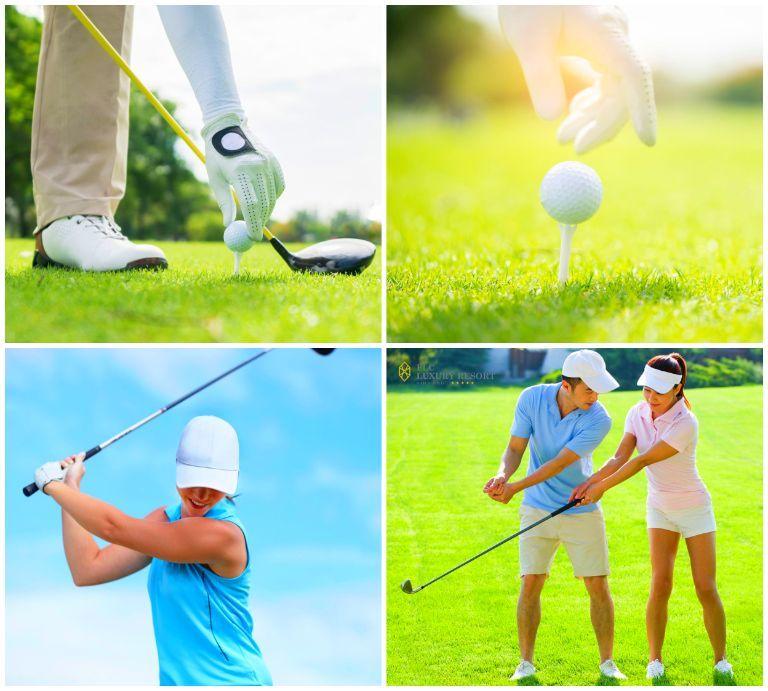 Sân Golf ở resort FLC Vĩnh Phúc
