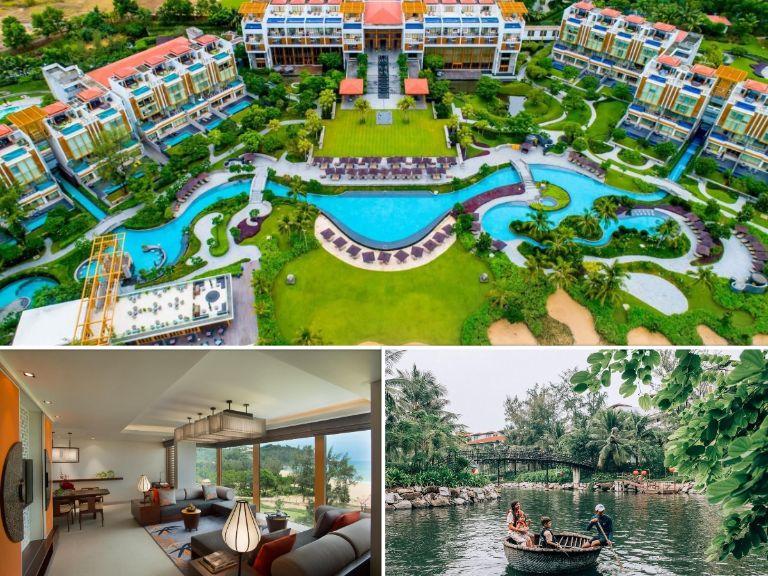 Resort Angsana Lăng Cô - Kiến trúc kết hợp màu sắc hiện đại và truyền thống