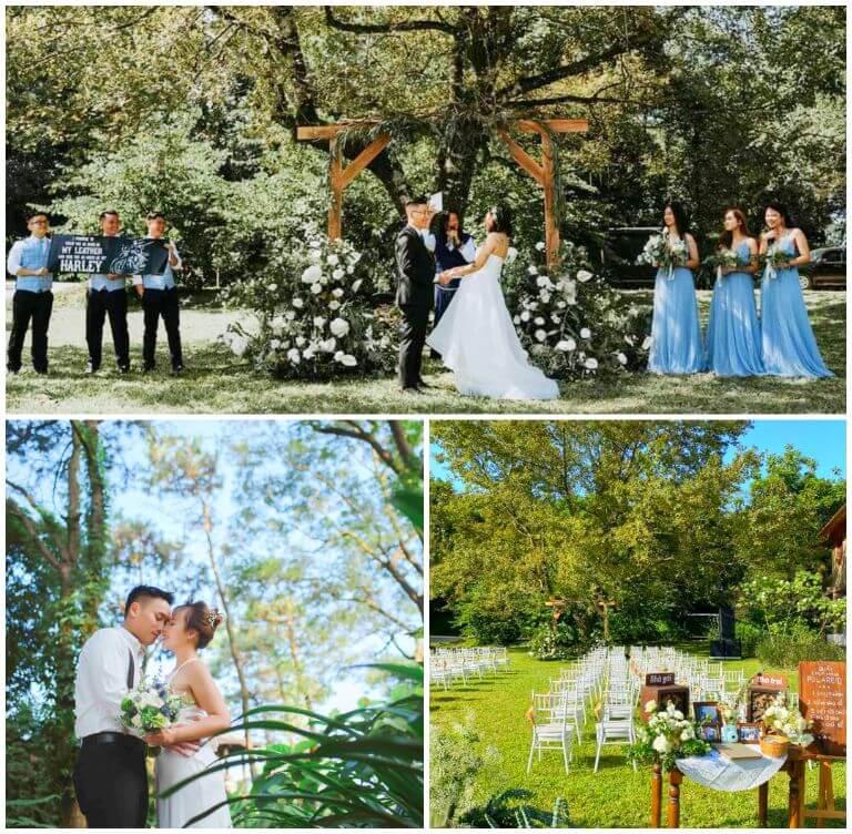 Tiệc cưới, kỷ niệm tuần trăng mật