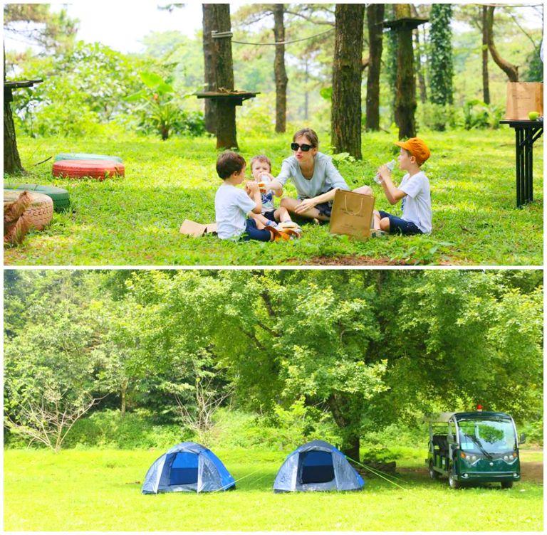 Cắm trại tại Melia Ba Vì Mountain Retreat