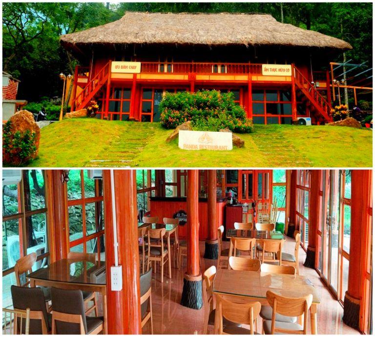 Nhà hàng Panda tại resort Paragon