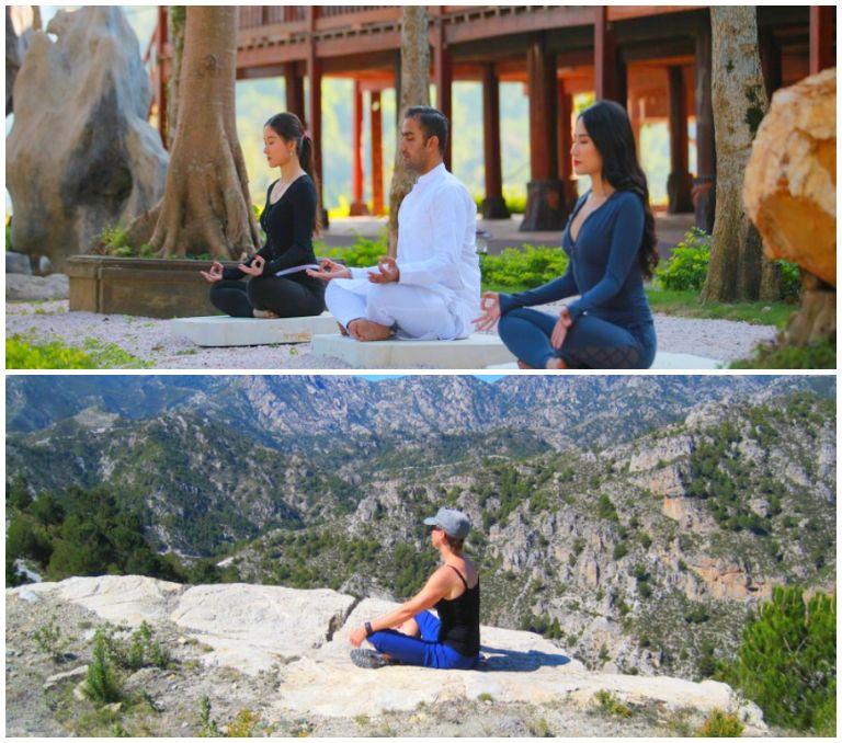 Yoga - Spa - Thiền trên núi