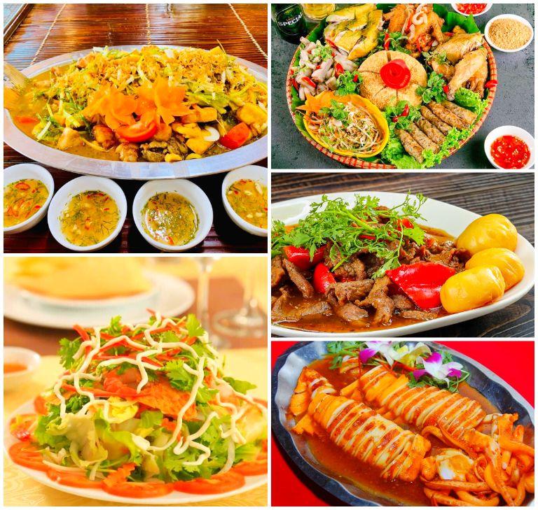 Ẩm thực độc đáo ở Quảng Tây resort Sơn Tây Hà Nội