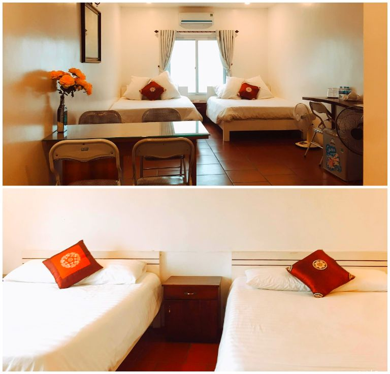 Phòng 2 giường 1,6m