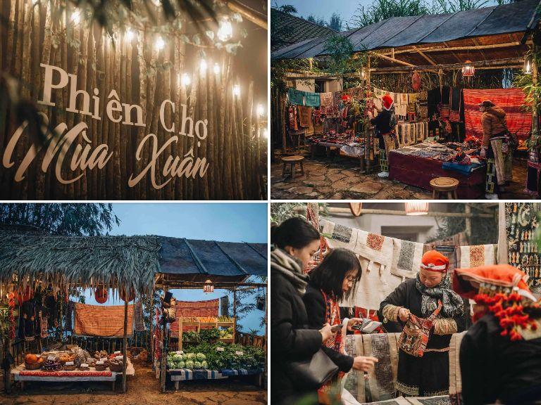 PHIÊN CHỢ VÙNG CAO Resort Sapa Jade Hill