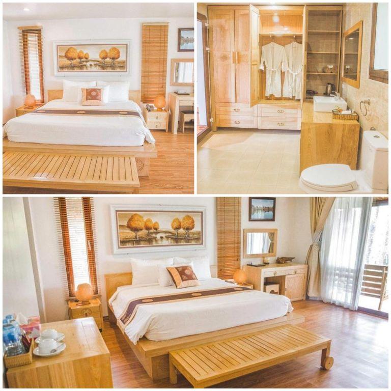 Hệ thống phòng ngủ tại resort