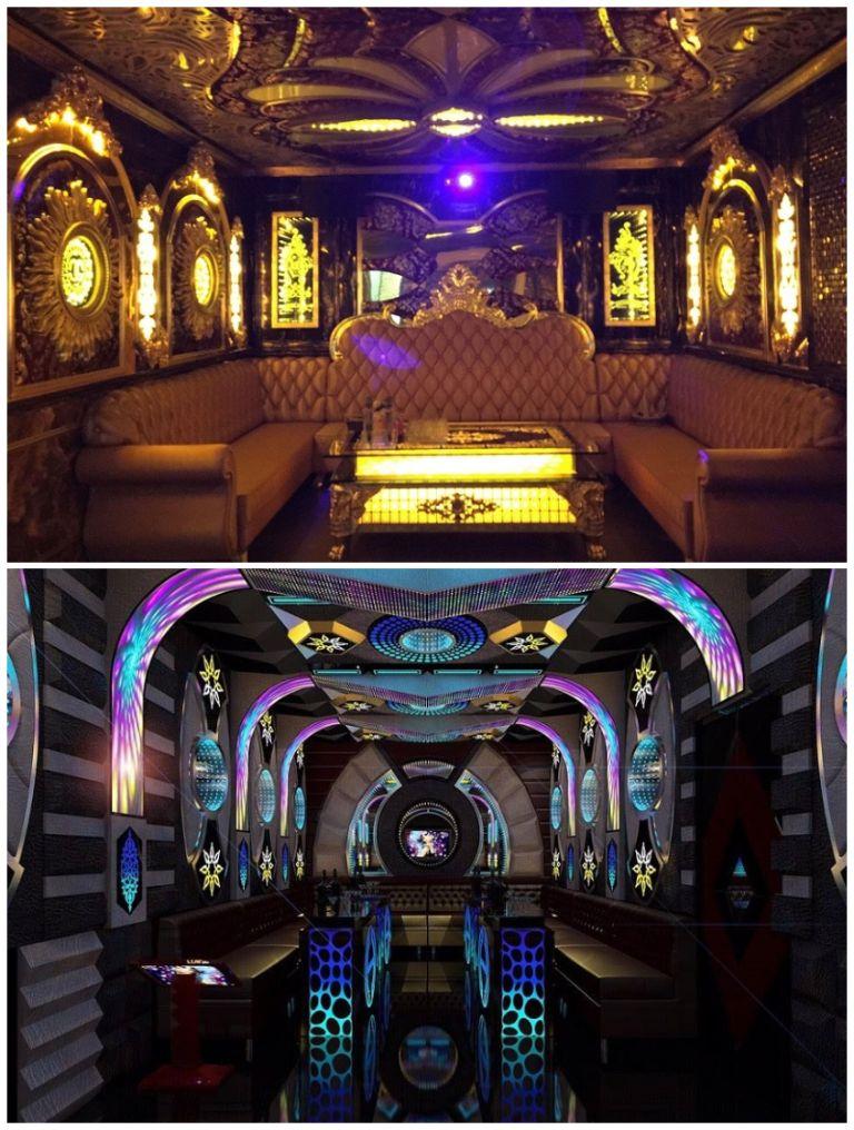 Phòng karaoke tại resort Sông Hồng