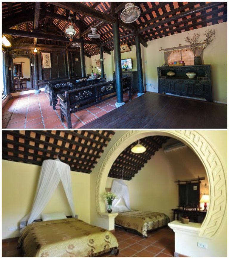 Phòng nghỉ khu nhà cổ