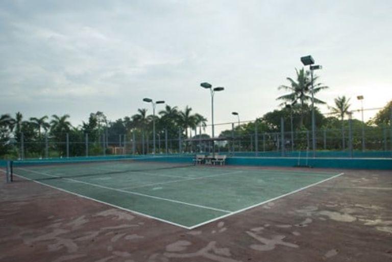 Sân tennis đạt tiêu chuẩn quốc tế