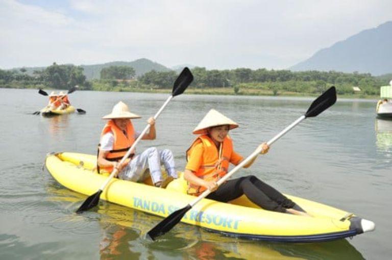 Chèo thuyền Kaykak