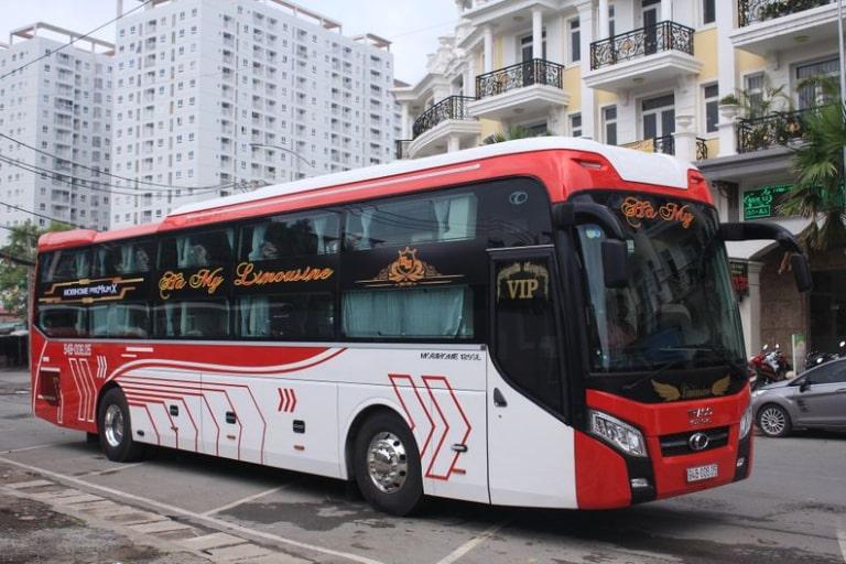 xe khách Sài Gòn Bạc Liêu Hà My