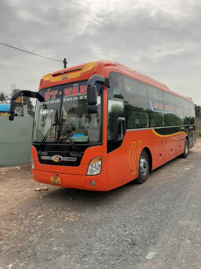 xe khách Sài Gòn Bạc Liêu Út Vân