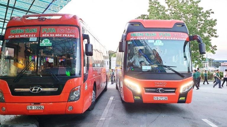 xe khách Sài Gòn Bạc Liêu Phương Trang