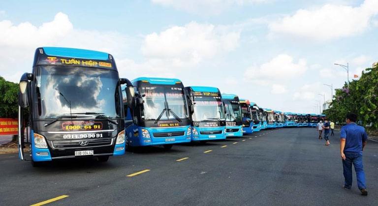 xe khách Sài Gòn Bạc Liêu Tuấn Hiệp