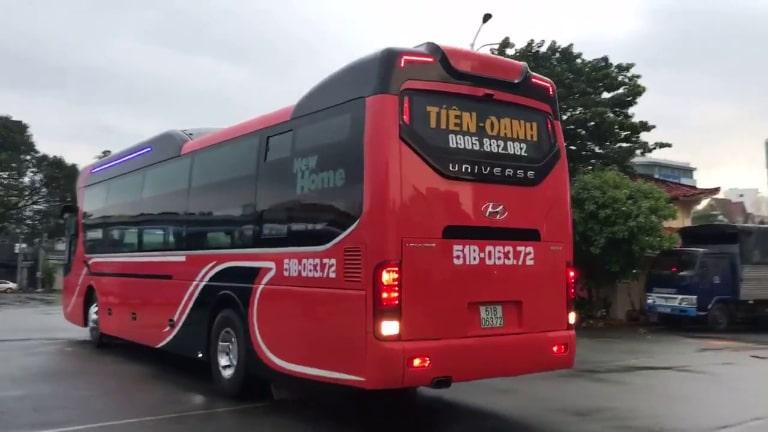Xe khách Sài Gòn Buôn Ma Thuột Tiến Oanh