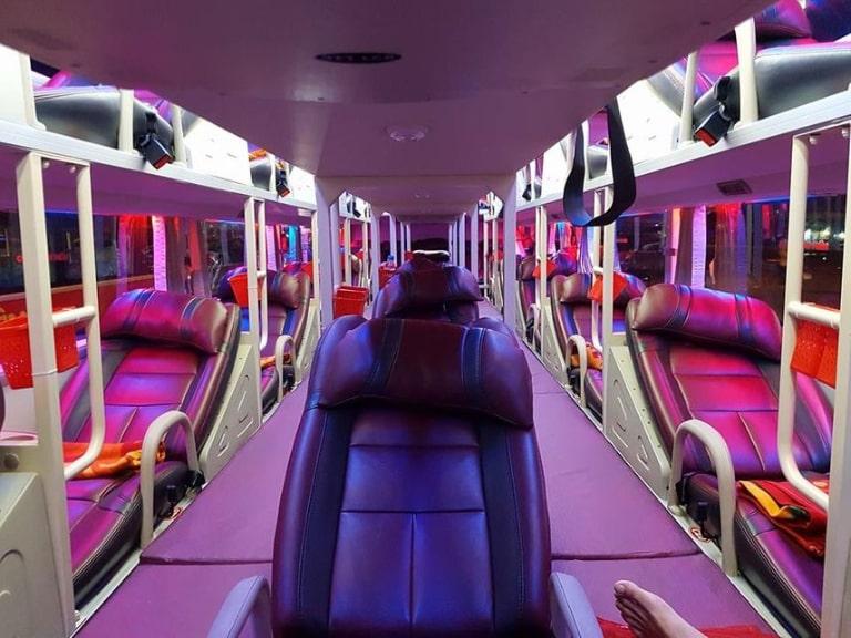 nội thất xe khách Hoàng Anh Đắk Lắc