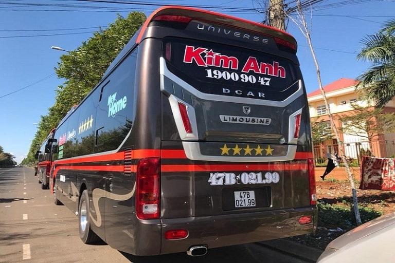 xe khách Sài Gòn Buôn Ma Thuột Kim Anh