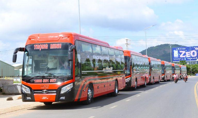 Xe khách Sài Gòn Đà Lạt Trọng Minh