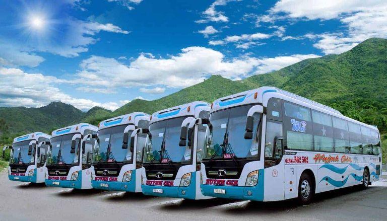 xe khách Sài Gòn Nha Trang Huỳnh Gia