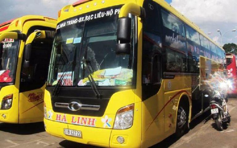 xe khách Sài Gòn Nha Trang Hà Linh