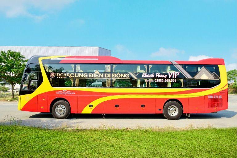 xe khách Khanh Phong